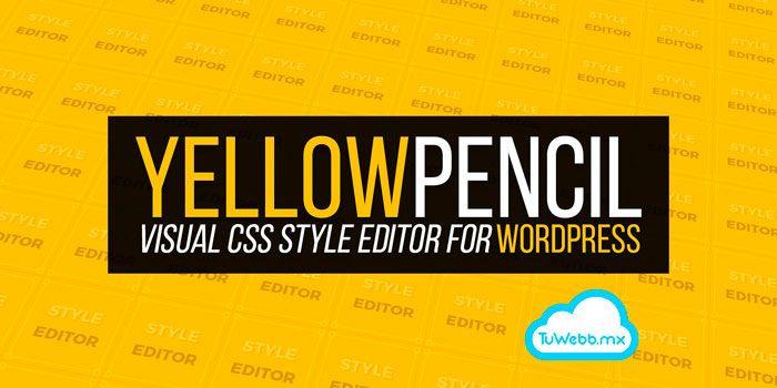 Yellow Pencil, editor visual de CSS – Plugin WordPress