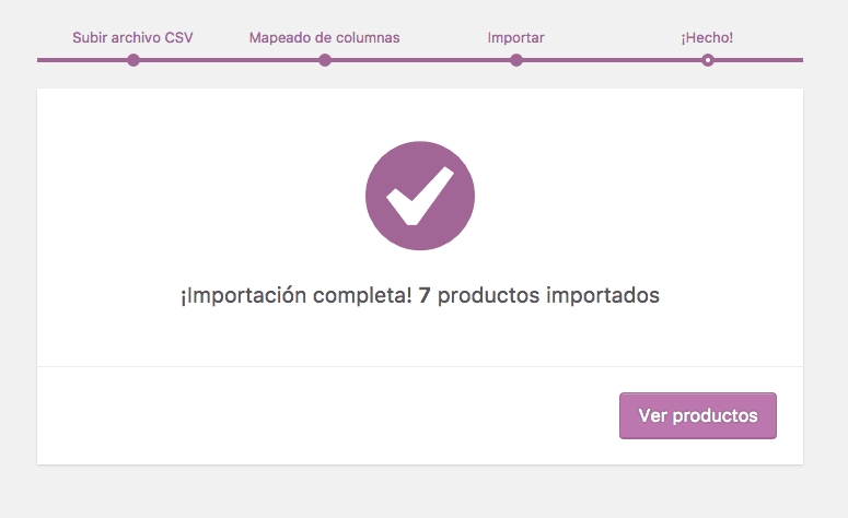 woocommerce importar productos 12