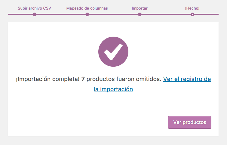 woocommerce importar productos 9