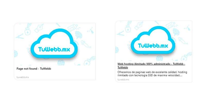 Solución para el error de compartir links en Facebook y Twitter